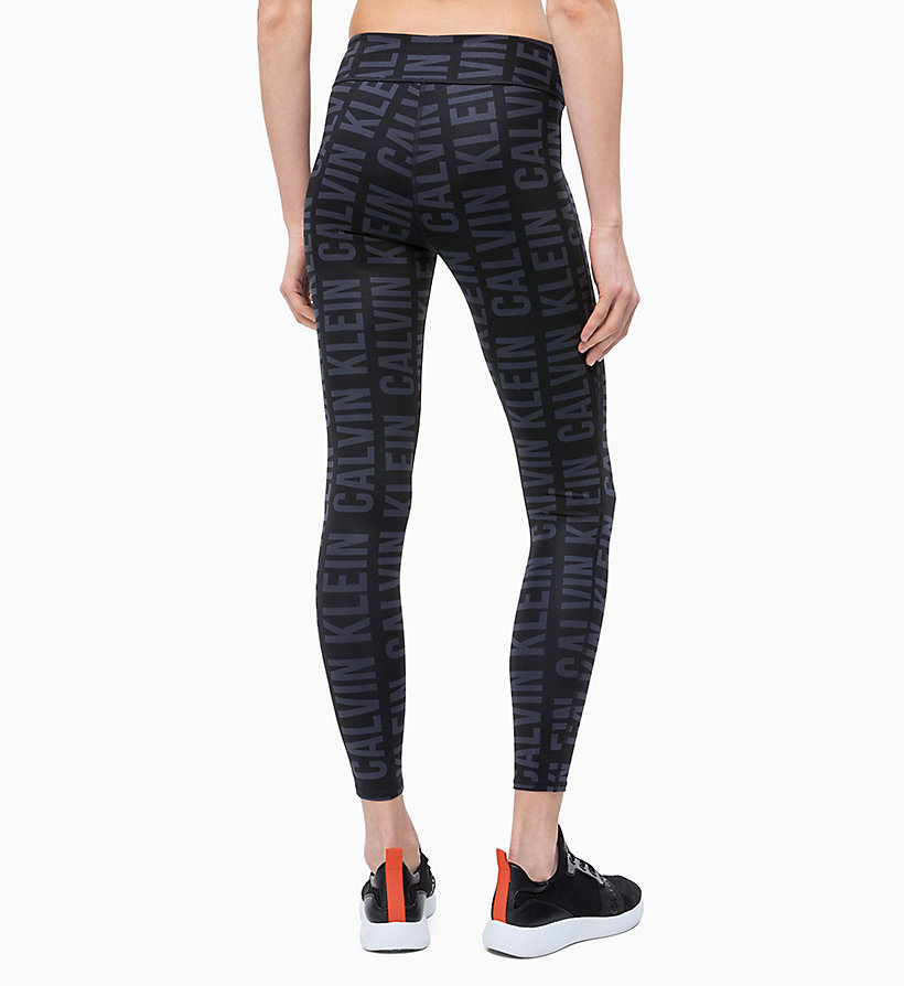 CALVINKLEIN Sports Leggings - BOLD CK_RACING RED - CALVIN KLEIN PERFORMANCE - detail image 1