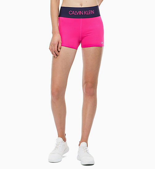 CALVIN KLEIN Tight Shorts - PINK YARROW - CALVIN KLEIN SPORT - main image