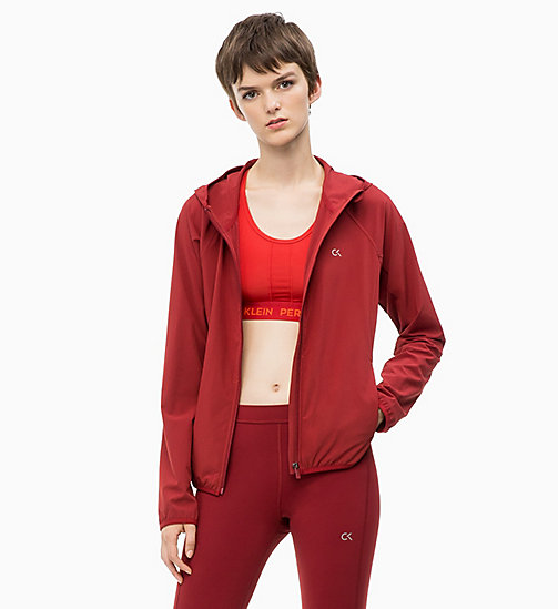 CALVIN KLEIN Windbreaker - MERLOT - CALVIN KLEIN NEW IN - main image