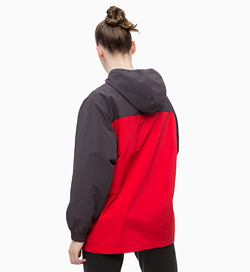 CALVINKLEIN Trainingsjacke - GUNMETAL/BRIGHT WHITE/RACING RED - CALVIN KLEIN SPORT - main image 1