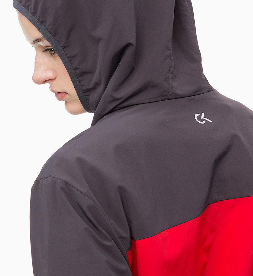 CALVIN KLEIN Trainingsjacke - TRIPLE BLACK - CALVIN KLEIN PERFORMANCE - main image 3