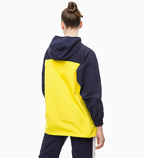 CALVINKLEIN Trainingsjacke - EVENING BLUE/GOLDEN KIWI/BRIGHT WHITE - CALVIN KLEIN SPORT - main image 1