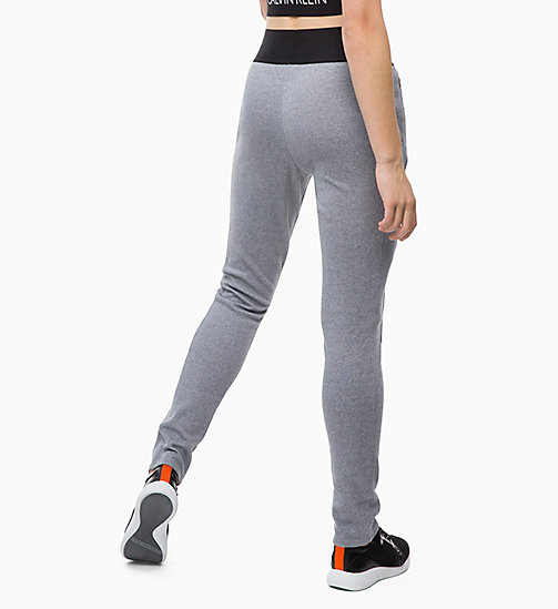 CALVINKLEIN Joggingbroek - MEDIUM GREY HEATHER - CALVIN KLEIN Korte Broeken & Broeken - detail image 1