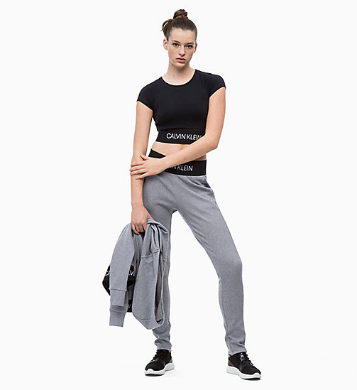 CALVIN KLEIN Joggers - MEDIUM GREY HEATHER - CALVIN KLEIN SPORT - detail image 1