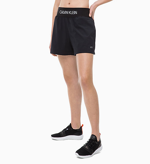 CALVINKLEIN Sports Shorts - CK BLACK - CALVIN KLEIN NEW FOR WOMEN - main image