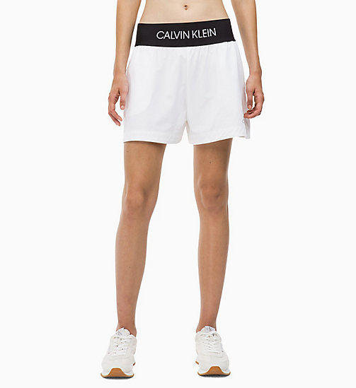 CALVIN KLEIN Sports Shorts - BRIGHT WHITE - CALVIN KLEIN SPORT - main image