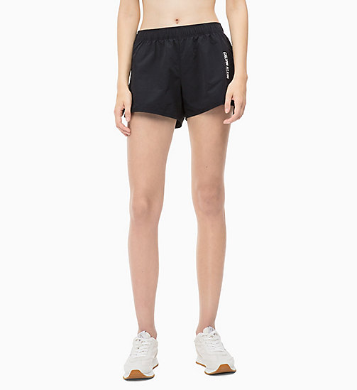 CALVIN KLEIN Sports Shorts - TRIPLE BLACK - CALVIN KLEIN SPORT - main image