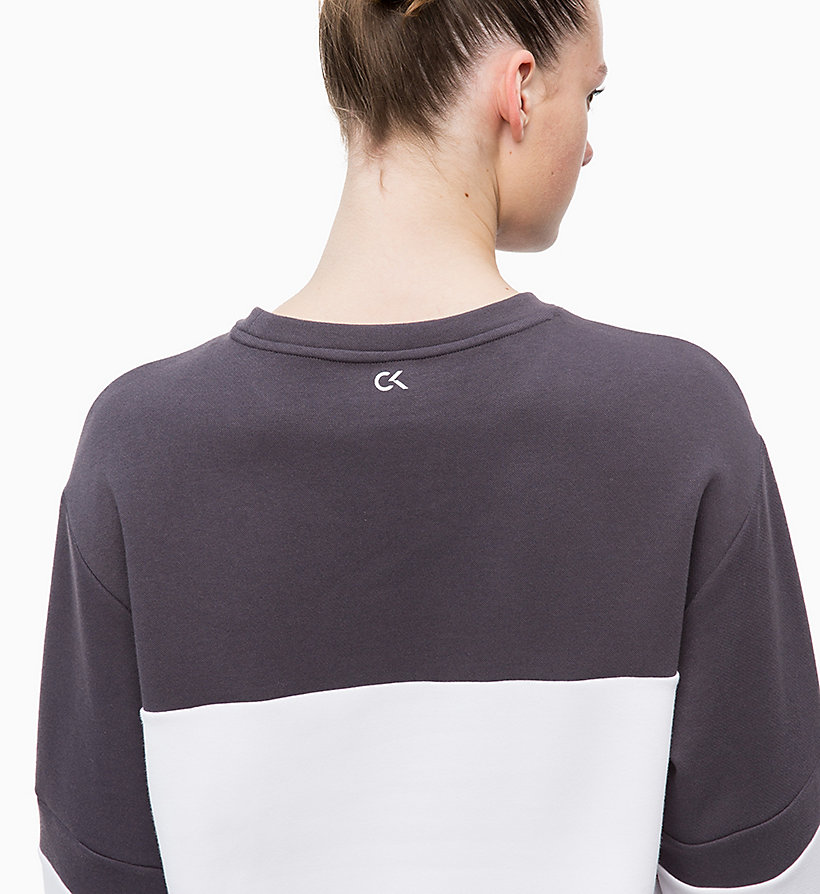CALVIN KLEIN Sweatshirt - TRIPLE BLACK - CALVIN KLEIN PERFORMANCE - detail image 3