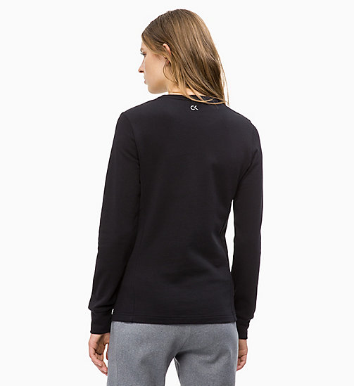CALVINKLEIN Logo Sweatshirt - CK BLACK - CALVIN KLEIN NEW FOR WOMEN - detail image 1