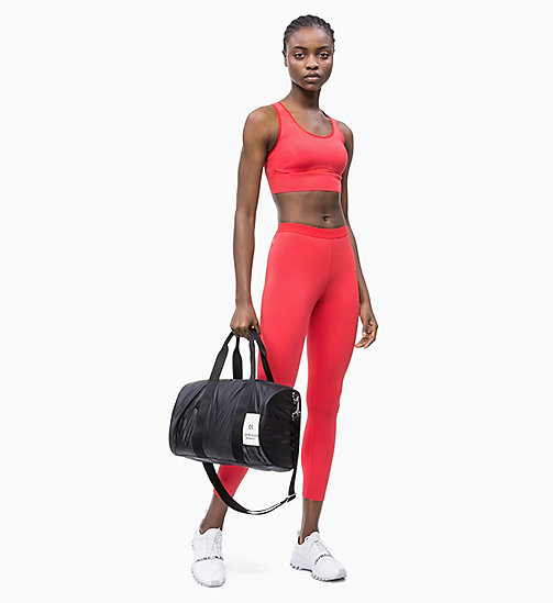 CALVIN KLEIN High Impact Racerback Sports Bra - HIGH RISK RED - CALVIN KLEIN NEW INS - detail image 1