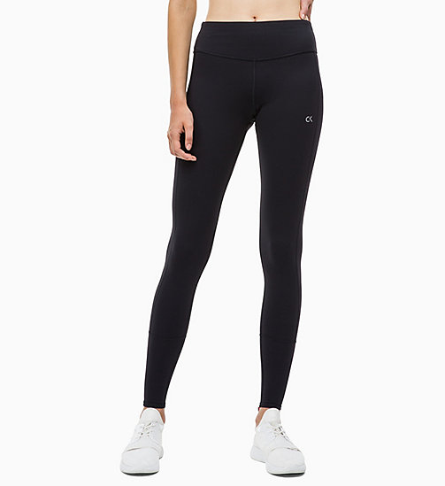 CALVIN KLEIN Sports Leggings - CK BLACK - CALVIN KLEIN NEW FOR WOMEN - main image