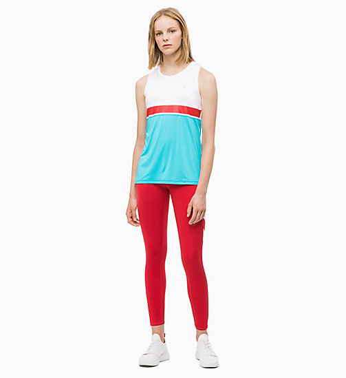 CALVIN KLEIN Cropped Sports Leggings - SAMBA - CALVIN KLEIN NEW FOR WOMEN - detail image 1