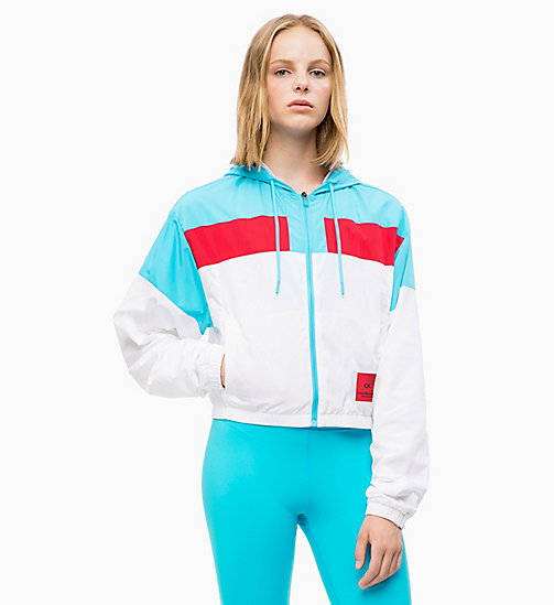 CALVIN KLEIN Windbreaker - BRIGHT WHITE - CALVIN KLEIN NEW INS - detail image 1