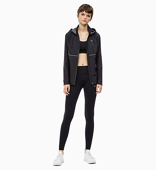 CALVIN KLEIN Reflective Windbreaker - CK BLACK - CALVIN KLEIN NEW FOR WOMEN - detail image 1