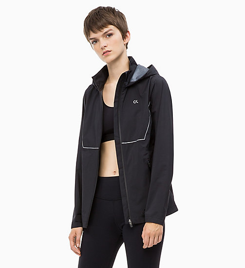 CALVIN KLEIN Reflective Windbreaker - CK BLACK - CALVIN KLEIN NEW FOR WOMEN - main image