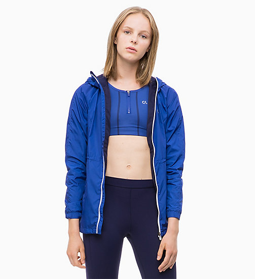 CALVIN KLEIN Windbreaker - MAZARINE BLUE - CALVIN KLEIN NEW FOR WOMEN - main image