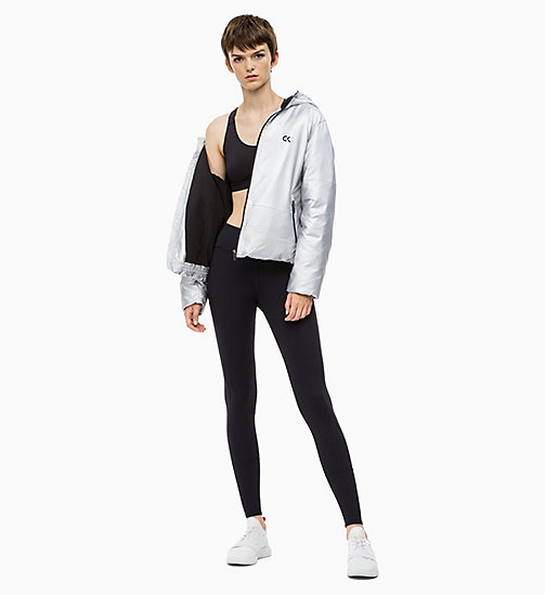 CALVIN KLEIN Reflective Down Jacket - METALLIC SILVER - CALVIN KLEIN NEW IN - detail image 1