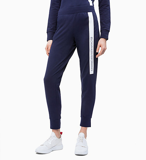 CALVIN KLEIN Logo Joggers - EVENING BLUE - CALVIN KLEIN NEW FOR WOMEN - main image