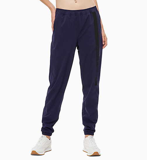 CALVIN KLEIN Tracksuit Bottoms - EVENING BLUE - CALVIN KLEIN NEW INS - main image