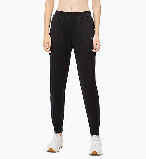 CALVIN KLEIN Joggers - CK BLACK - CALVIN KLEIN NEW FOR WOMEN - main image