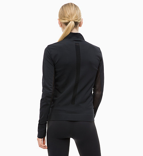 CALVINKLEIN Zip Through Jacket - CK BLACK - CALVIN KLEIN SPORT - detail image 1