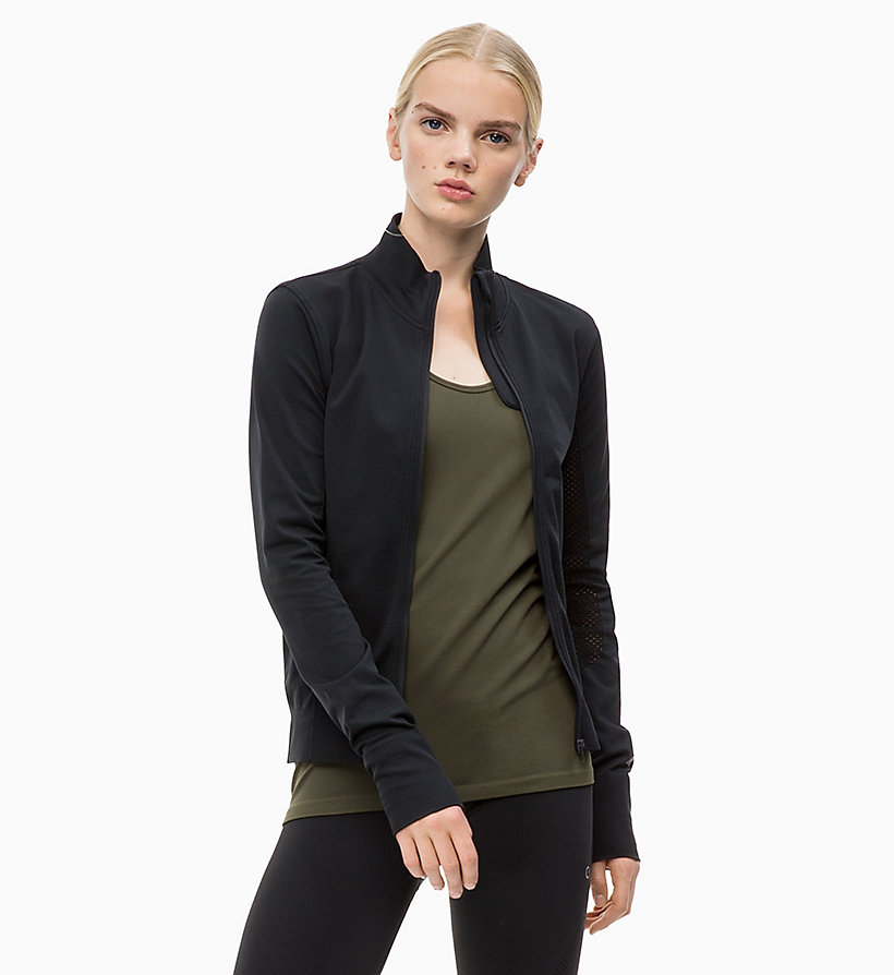 CALVIN KLEIN Zip Through Jacket - FOREST NIGHT? - CALVIN KLEIN PERFORMANCE - main image