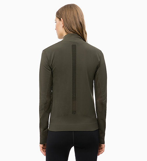 CALVINKLEIN Zip Through Jacket - FOREST NIGHT - CALVIN KLEIN SPORT - detail image 1