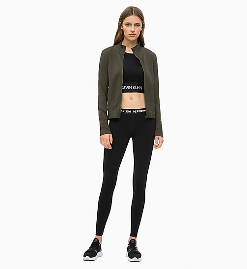 CALVIN KLEIN Zip Through Jacket - FOREST NIGHT - CALVIN KLEIN SPORT - detail image 1
