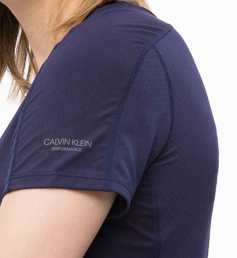 CALVIN KLEIN Mesh Panel T-shirt - SURF THE WEB - CALVIN KLEIN PERFORMANCE - detail image 3