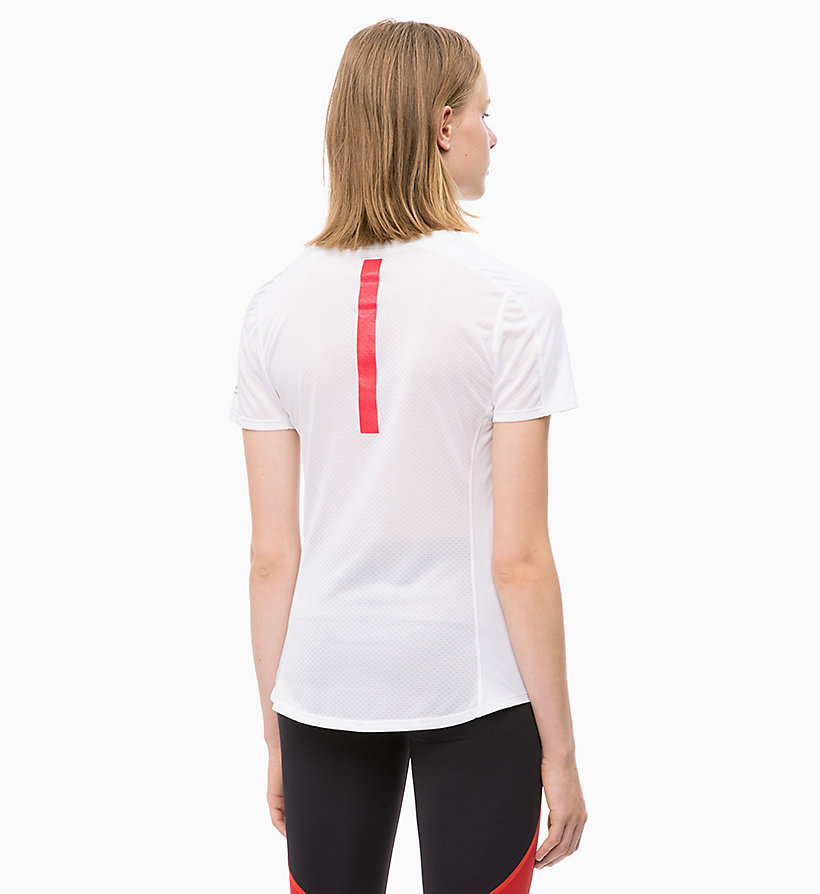 CALVIN KLEIN T-Shirt mit Mesh-Einsatz - SURF THE WEB - CALVIN KLEIN PERFORMANCE - main image 1