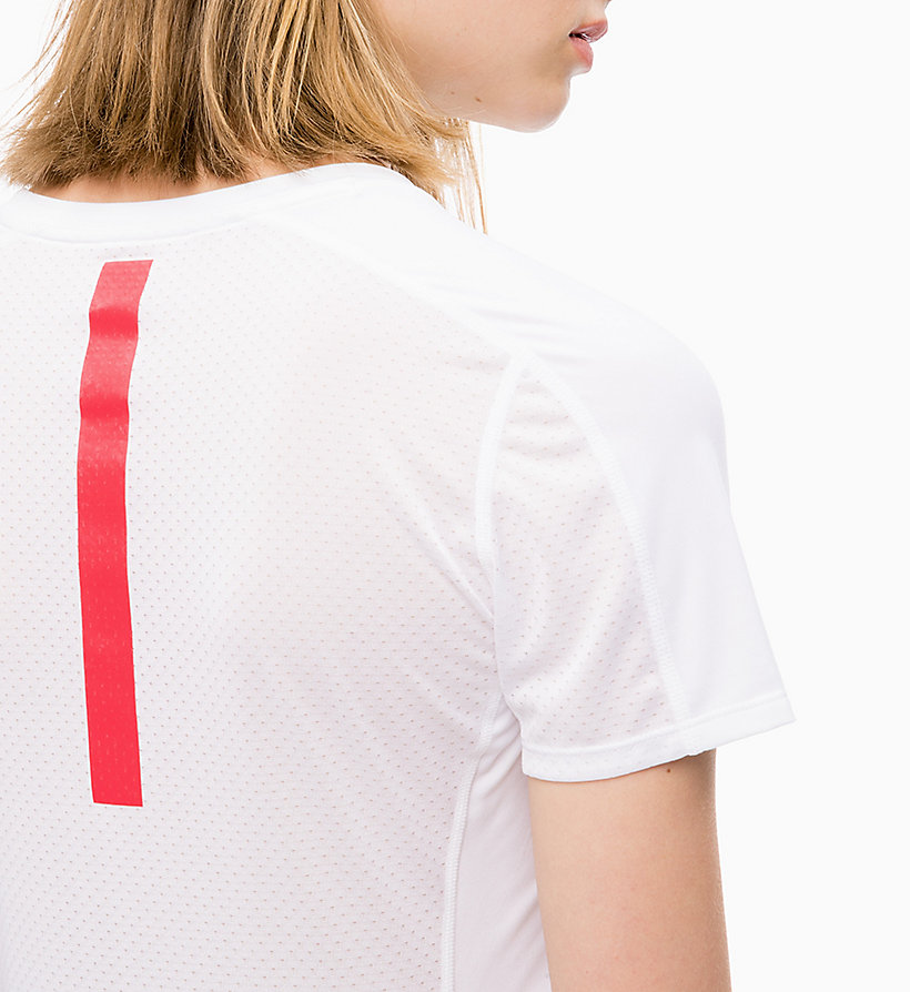CALVIN KLEIN Mesh Panel T-shirt - SURF THE WEB - CALVIN KLEIN PERFORMANCE - detail image 2