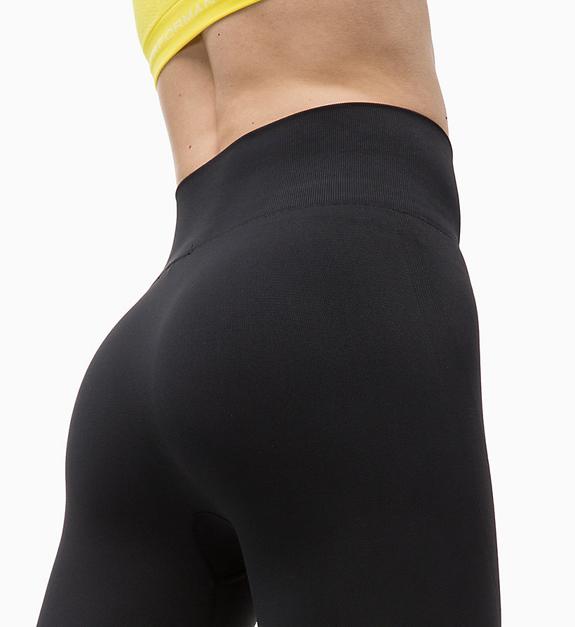 CALVIN KLEIN Mesh Panel Sports Leggings - FOREST NIGHT? - CALVIN KLEIN PERFORMANCE - detail image 3