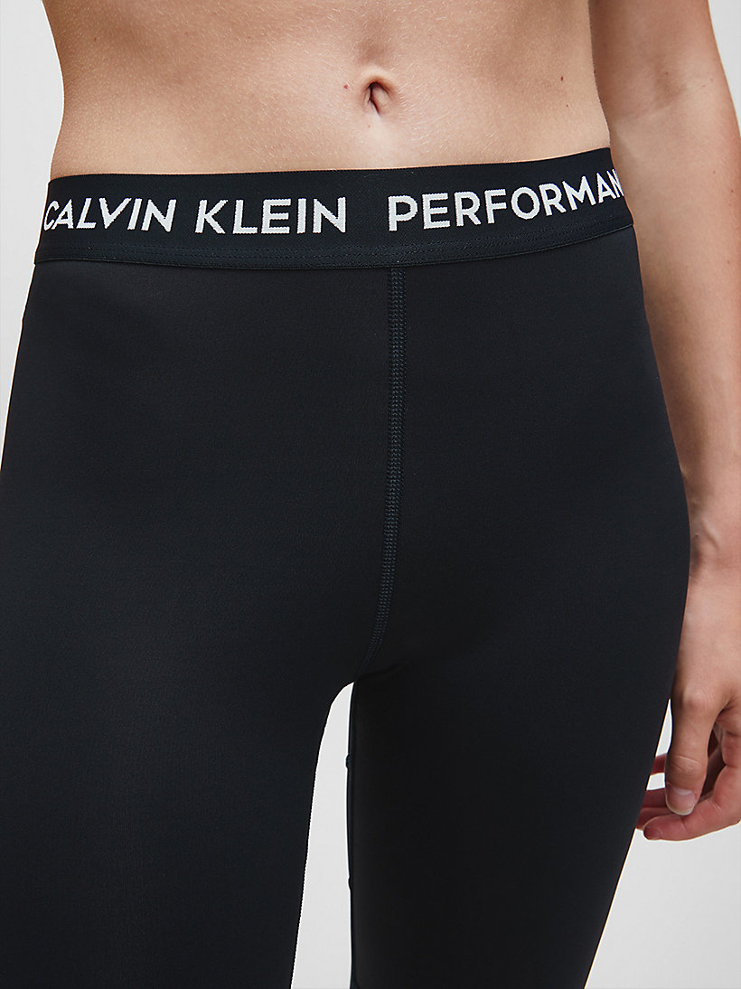 CALVIN KLEIN Colourblocked Sports Leggings - MERLOT - CALVIN KLEIN PERFORMANCE - detail image 3