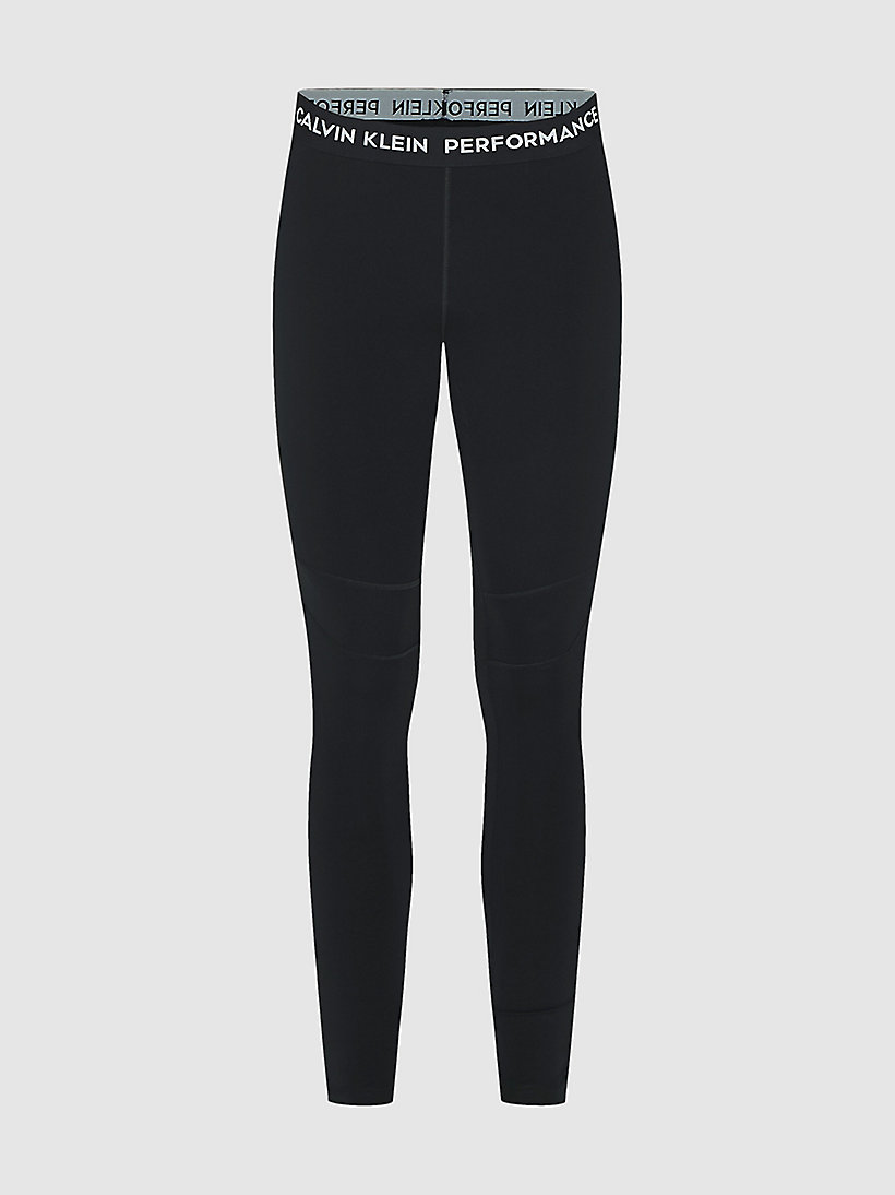 CALVIN KLEIN Colourblocked Sports Leggings - MERLOT - CALVIN KLEIN PERFORMANCE - detail image 4