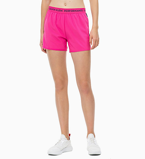 CALVINKLEIN Sports Shorts - PINK YARROW - CALVIN KLEIN SHORTS & TROUSERS - main image