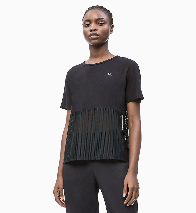 Calvin Klein Performance mesh back t
