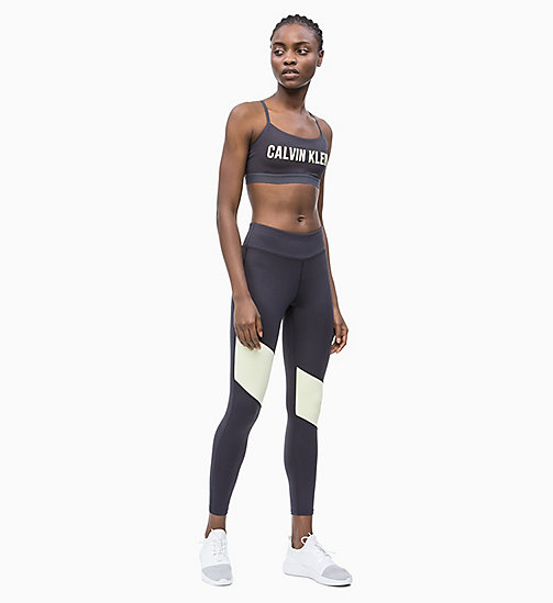 CALVIN KLEIN Sport-Leggings - GUNMETAL/WAX YELLOW - CALVIN KLEIN NEW IN - main image 1