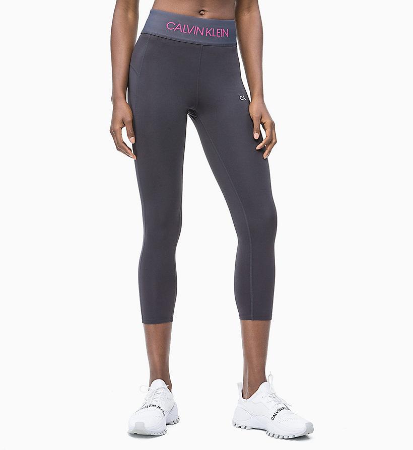 78bc475d0bb2e Cropped Logo Sports Leggings Calvin Klein®