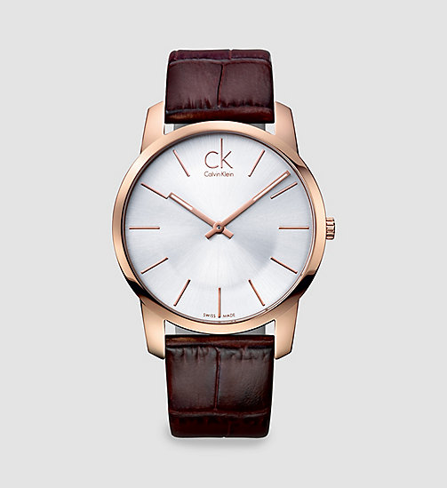 CKJEANS Watch - Calvin Klein City - BLACK - CK JEANS JEWELLERY - main image