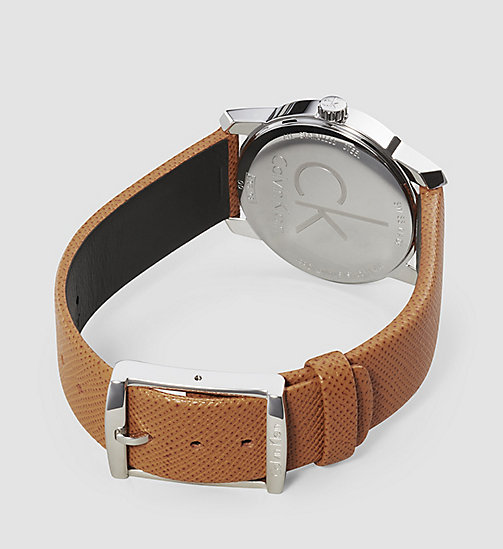 CALVINKLEIN Watch - Calvin Klein City - SST / BROWN / SILVER - CALVIN KLEIN WATCHES & JEWELLERY - detail image 1