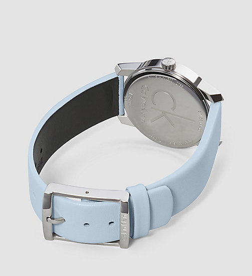 CALVINKLEIN Watch - Calvin Klein City - SST / BLUE - CALVIN KLEIN WATCHES & JEWELLERY - detail image 1
