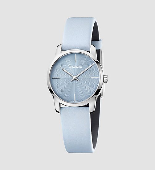 CALVINKLEIN Watch - Calvin Klein City - SST / BLUE - CALVIN KLEIN WATCHES & JEWELLERY - main image