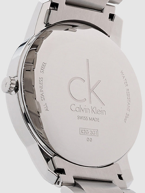 CALVINKLEIN Watch - Calvin Klein City - BLACK - CALVIN KLEIN WATCHES - detail image 1