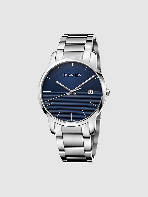 CALVINKLEIN Watch - Calvin Klein City - BLUE - CALVIN KLEIN WATCHES - main image