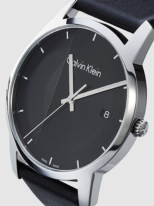 CALVIN KLEIN Watch - Calvin Klein City - SST / BLACK / BLACK - CALVIN KLEIN WATCHES - detail image 1