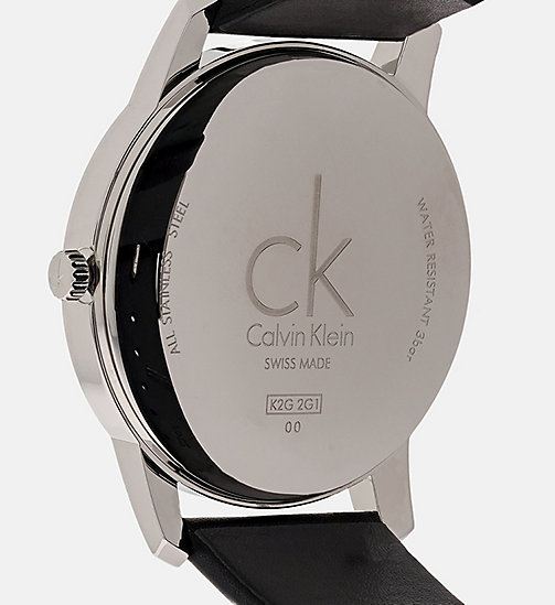 CALVINKLEIN Watch - Calvin Klein City - SILVER - CALVIN KLEIN WATCHES - detail image 1