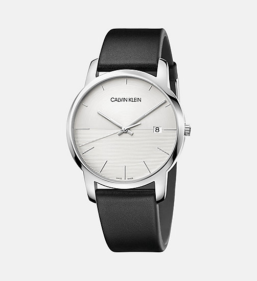 CALVINKLEIN Watch - Calvin Klein City - SILVER - CALVIN KLEIN MEN - main image