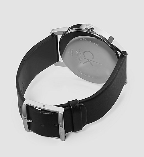 CALVINKLEIN Watch - Calvin Klein City - SST/BLACK/SILVER - CALVIN KLEIN WATCHES & JEWELLERY - detail image 1