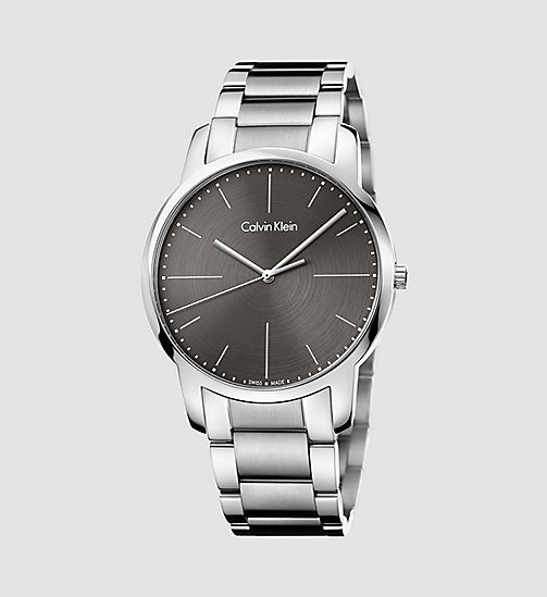 CALVINKLEIN Watch - Calvin Klein City - SST  /   COOL GREY - CALVIN KLEIN WATCHES & JEWELLERY - main image
