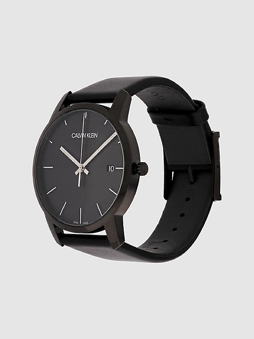 CALVIN KLEIN Watch - Calvin Klein City - BLACK - CALVIN KLEIN WATCHES - detail image 1